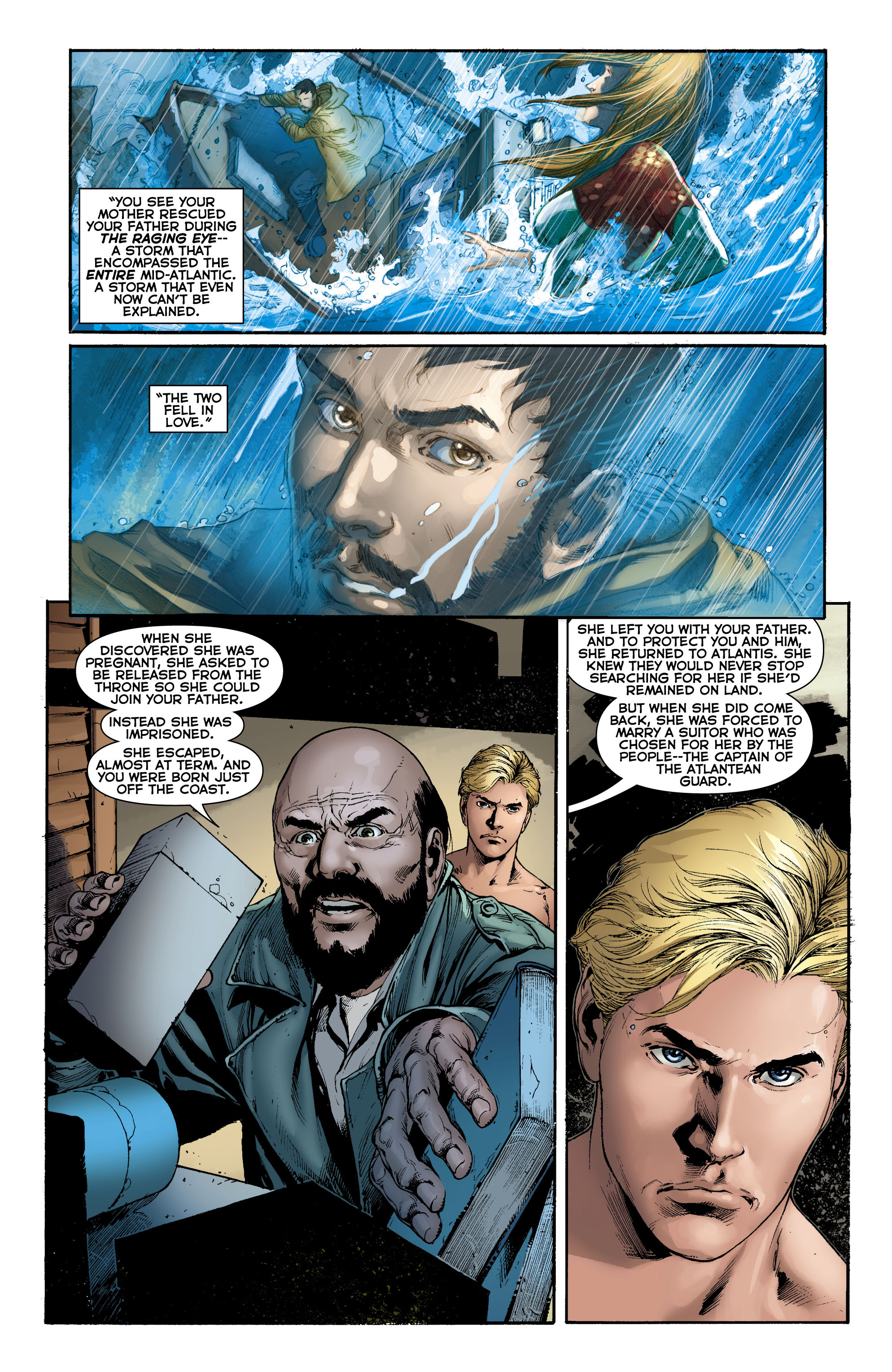 Read online Aquaman (2011) comic -  Issue #0 - 17