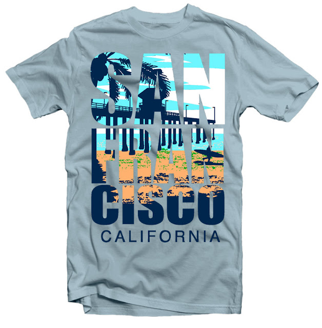 san francisco tshirt design