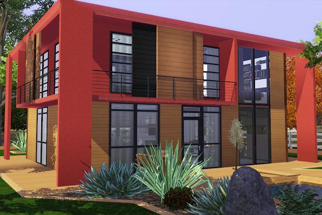 maison d'architecte sims 3