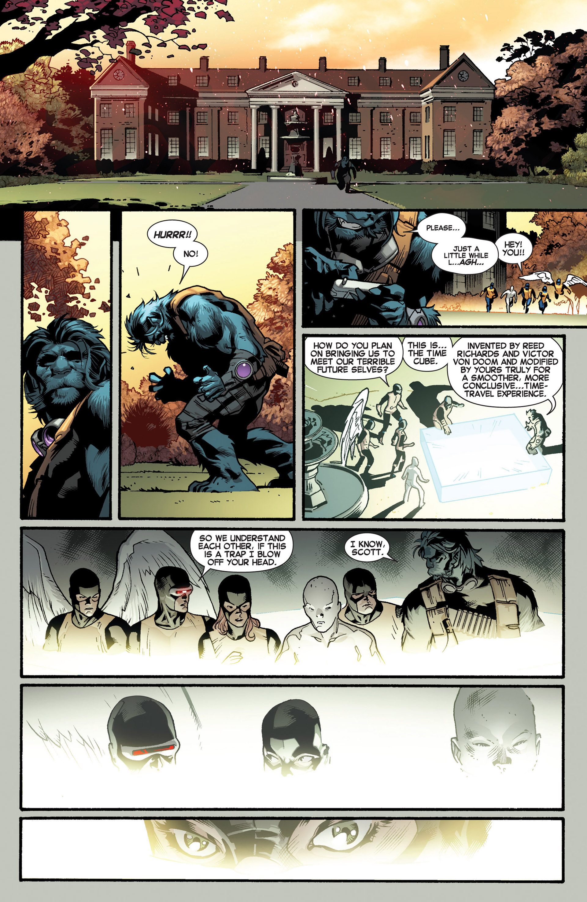 Read online All-New X-Men (2013) comic -  Issue #2 - 9