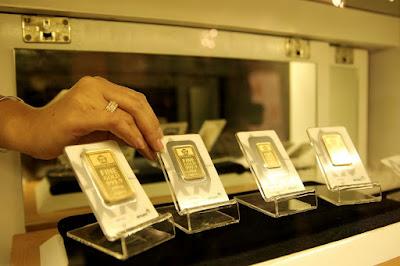 emas logam mulia antam