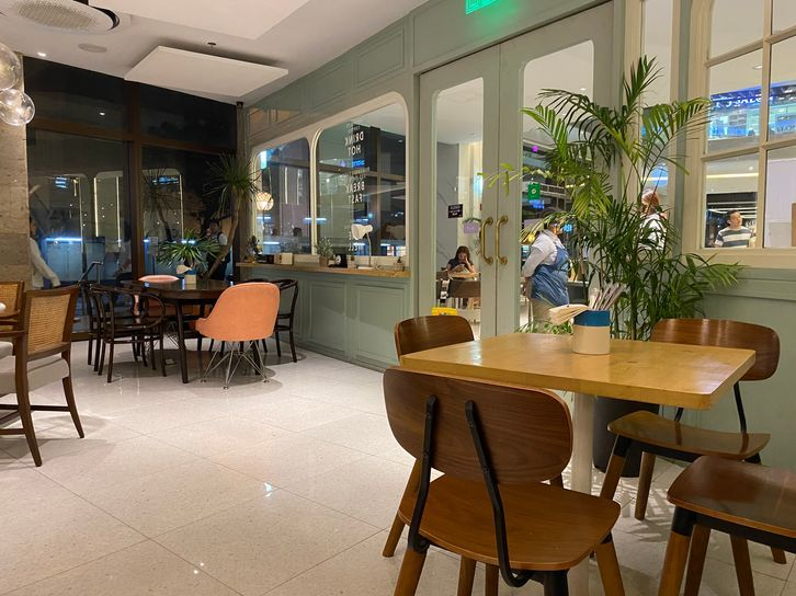 The interiors of Nono's Comfort Kitchen