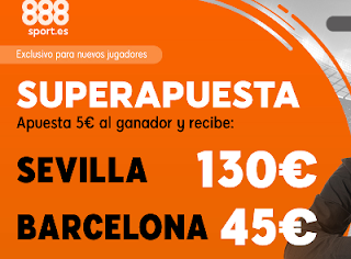 888sport superapuesta Sevilla vs Barcelona 23 febrero 2019