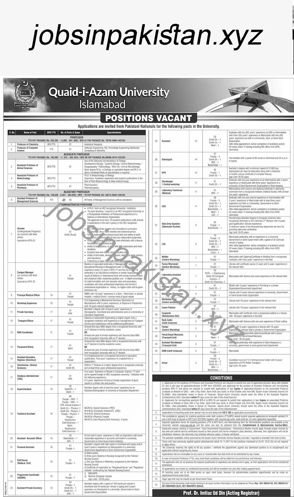 https://www.jobsinpakistan.xyz/2018/09/quaid-e-azam-university-islamabad-jobs.html