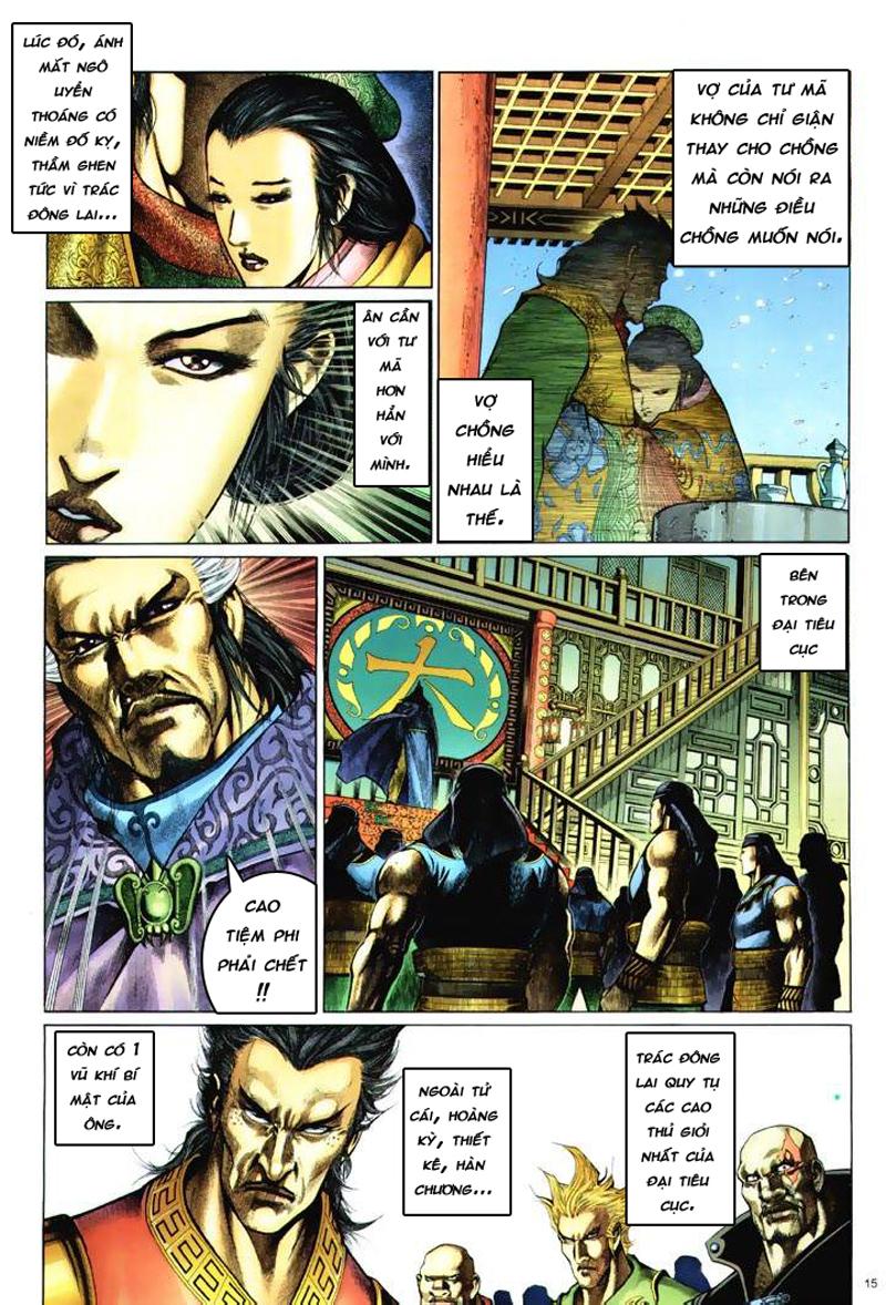 Anh hùng vô lệ Chap 6: Anh hùng hữu lệ trang 15