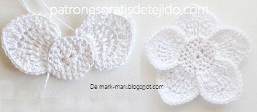 petalos-blancos-tejidos-con-ganchillo