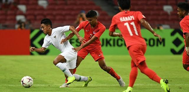 Kalah dari Singapura, Indonesia Perpanjang Rekor Buruk di Piala AFF