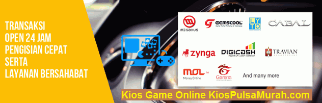 Bisnis Kios Game Online – Untung Besar dengan Jualan Voucher Game