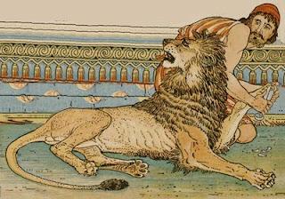 Il leone innamorato (Esopo)