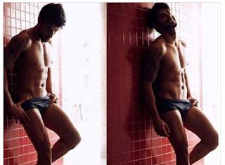 ensaio sensual de Renan