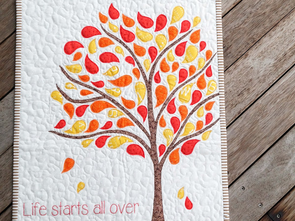Crisp in the Fall : Wall Quilt {FREE PATTERN}