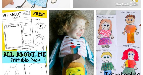 25 All About Me Activities & Free Printables Totschooling - Toddler,  Preschool, Kindergarten Educational Printables
