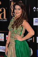 Manjusha in Beautiful Sleeveless Green Anarkali dress at IIFA Utsavam Awards 24.JPG