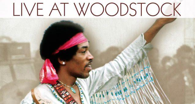 Jimi Hendrix en el Festival de Woodstock