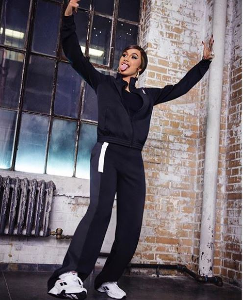 CARDI B ANNOUNCES REEBOK PARTNERSHIP