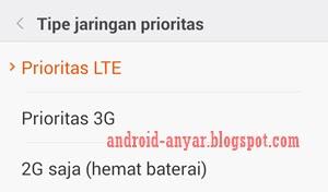 Cara memperkuat sinyal 4G LTE Plus Android tanpa root