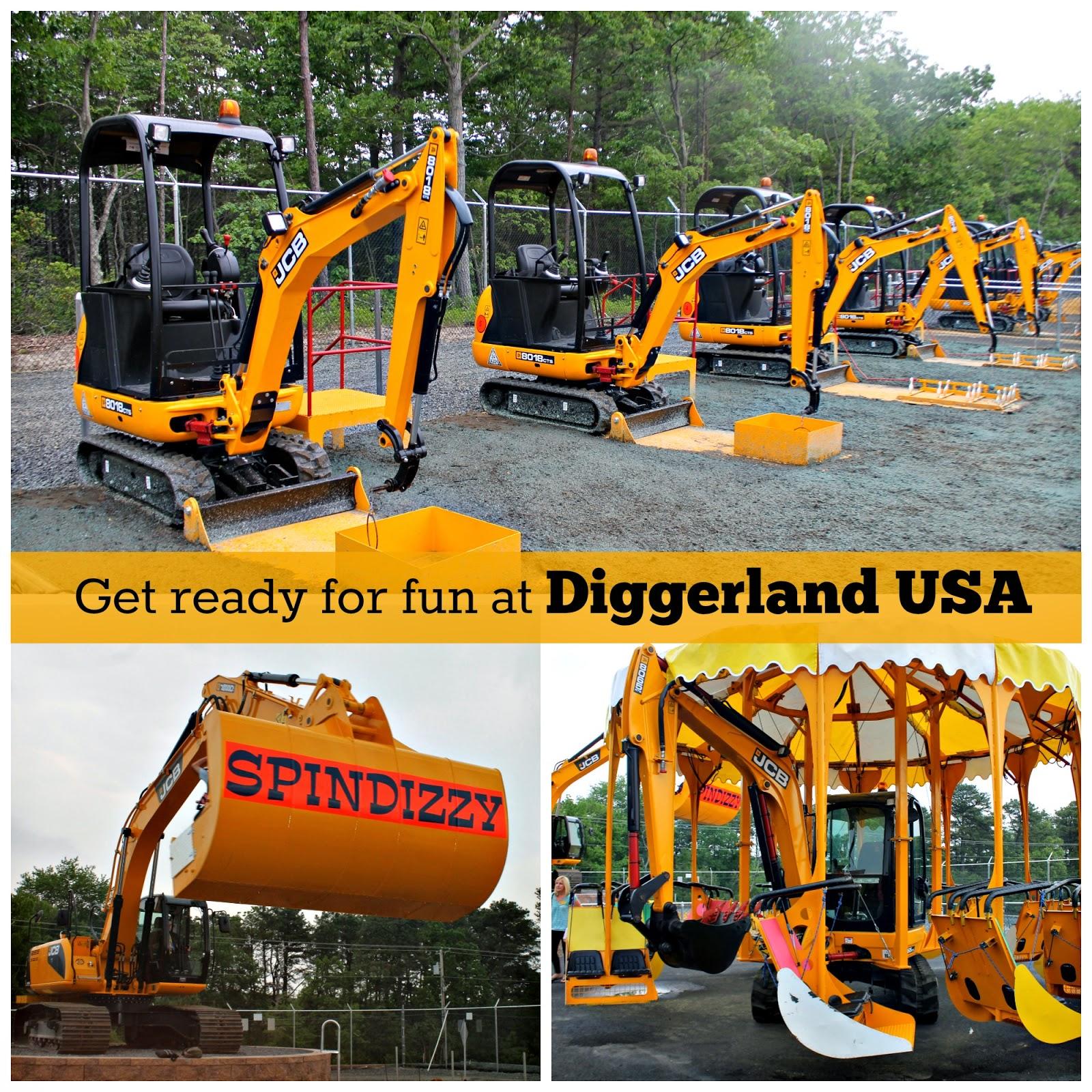 #DiggerlandUSA, #Diggerland