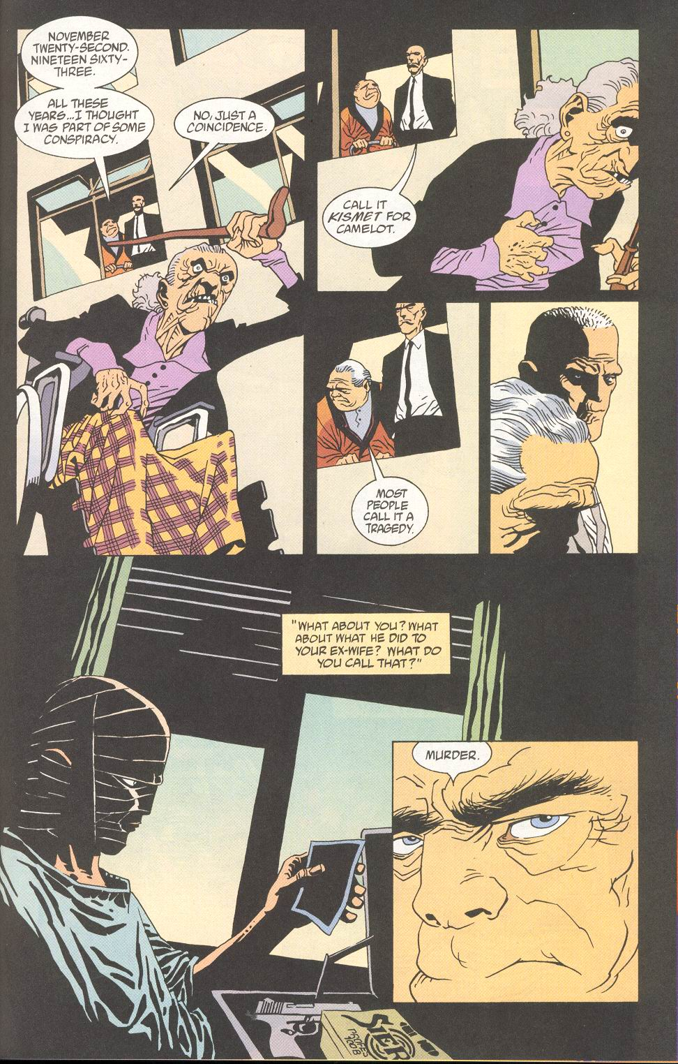 Read online 100 Bullets comic -  Issue #27 - 22