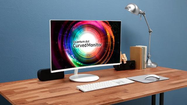 A Samsung apresentará na CES 2017 seu novo monitor de tela curva CH711 Pontos Quânticos.