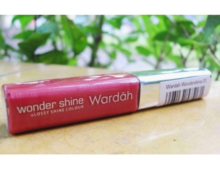 Harga Lipstik Cair Wardah Wonder Shine 01 Terbaru 2018