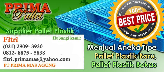 JUAL PALLET PLASTIK