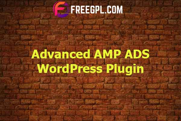 Advanced AMP ADS Nulled Download Free