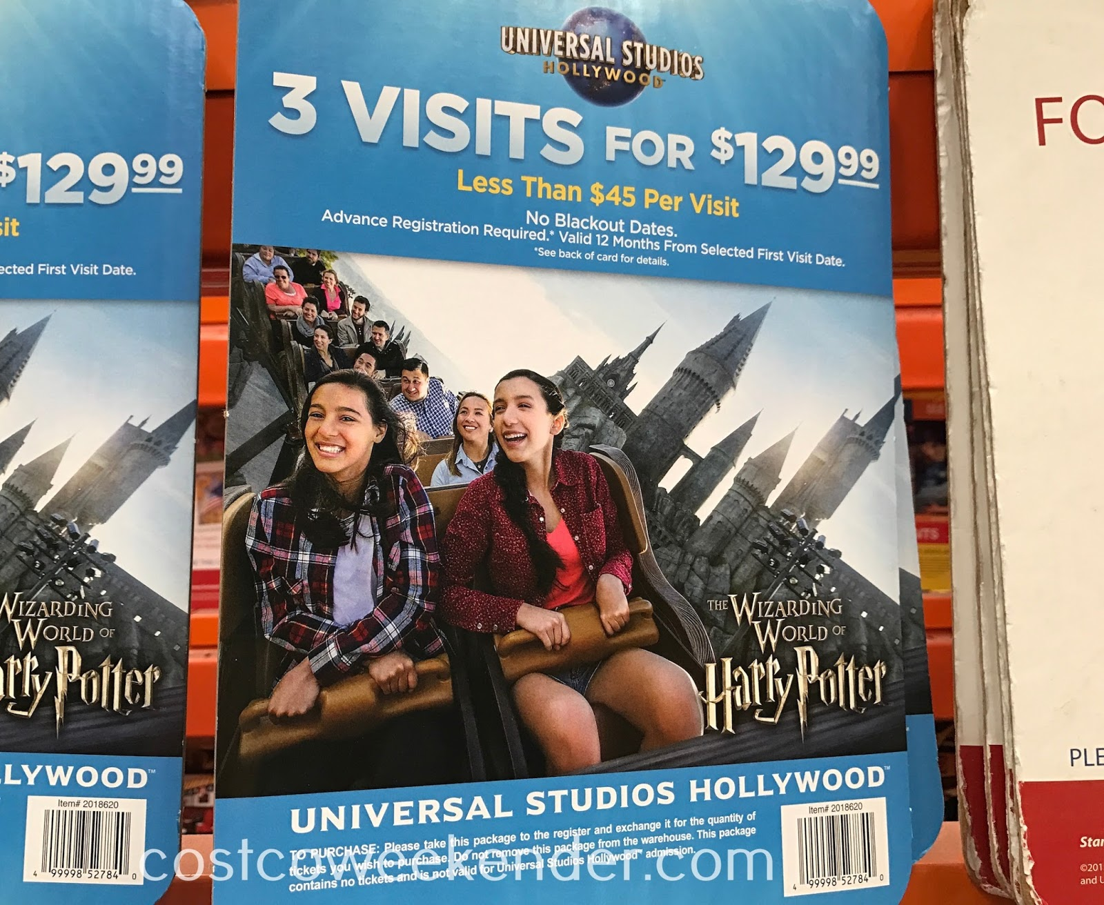 Get your summer plans booked with the Universal Studios Hollywood 3 Visit Ticket