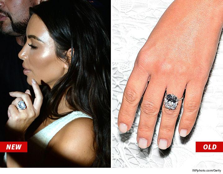 Fashion & Make Up: Kanye West gave Kim Kardashian another diamond ring