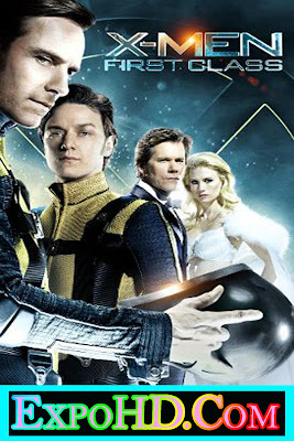 X-Men First Class 2011 Dual Audio 480p || BluRay || Esub 525Mb || Hindi + English || Watch Online