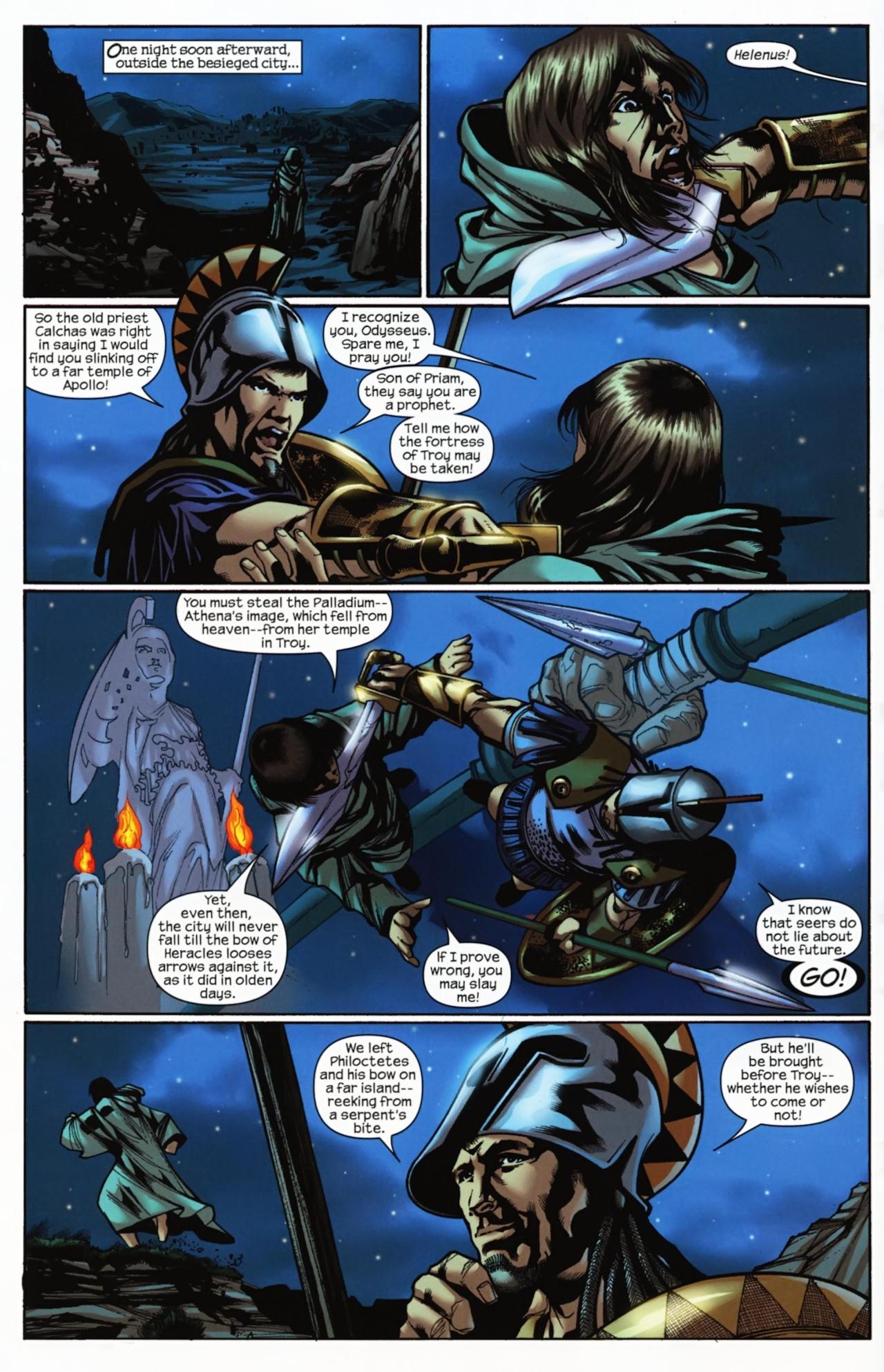 Read online Trojan War comic -  Issue #4 - 12