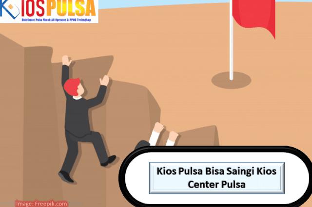 Kios Pulsa Bisa Saingi Kios Center Pulsa