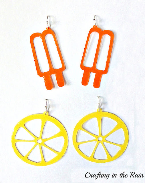 Summer Paper Earring Designs | Crafting in the Rain