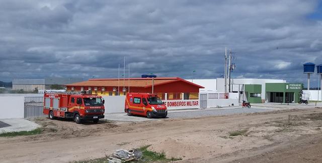 Em Delmiro Gouveia, novas sedes do 9º  Batalhão de Policia Militar e 8º Grupamento de Bombeiros Militar  serão inauguradas nesta terça-feira, 03