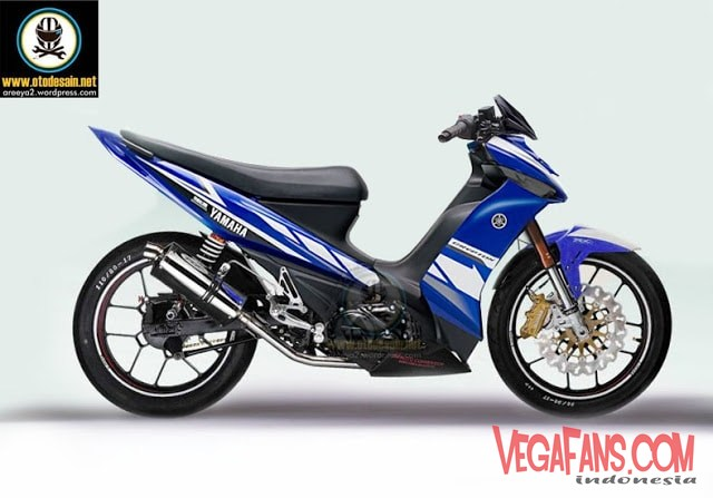 Vega ZR Modif Super Moto