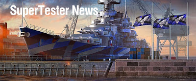 World of Warships Supertest Information