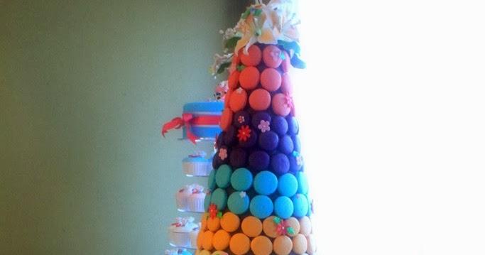 The Sensational Cakes Rainbow Theme Wedding Cake