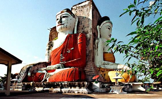 Kyaik Pun Buddha at Bago