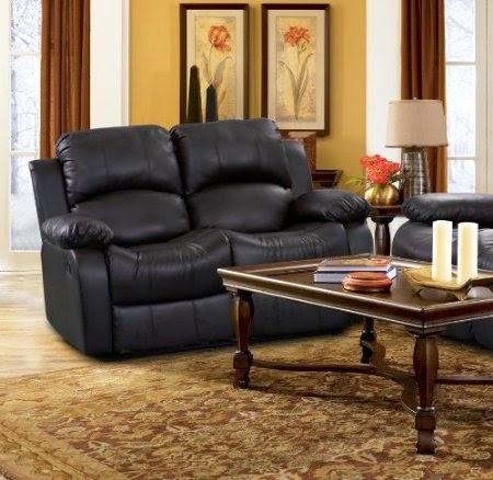 the best reclining sofa reviews rotunda black faux