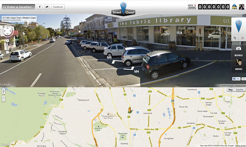 Google Maps Platform: Map of the Week: Volkswagen Street View Quest