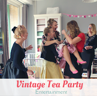 Vintage tea party - entertainment