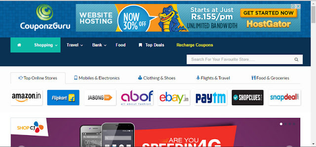 Couponzguru.Com - Get Best Online Coupons And Deals For Indian Online Sites...