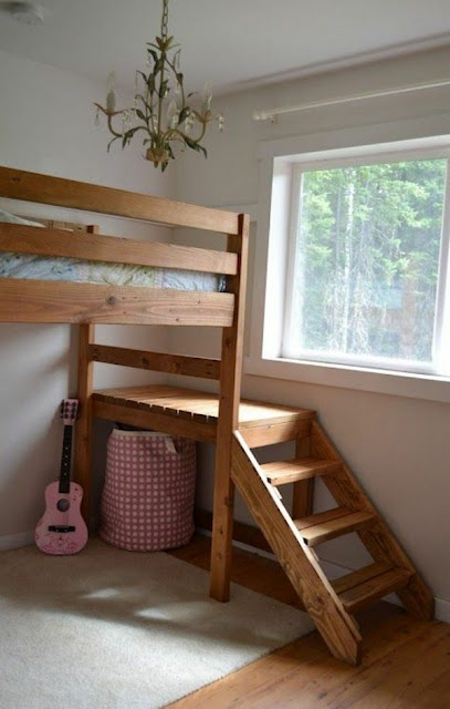 Bunk Bed With Stairs To Climb