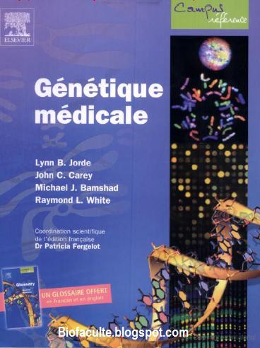 Génétique médicale livre PDF