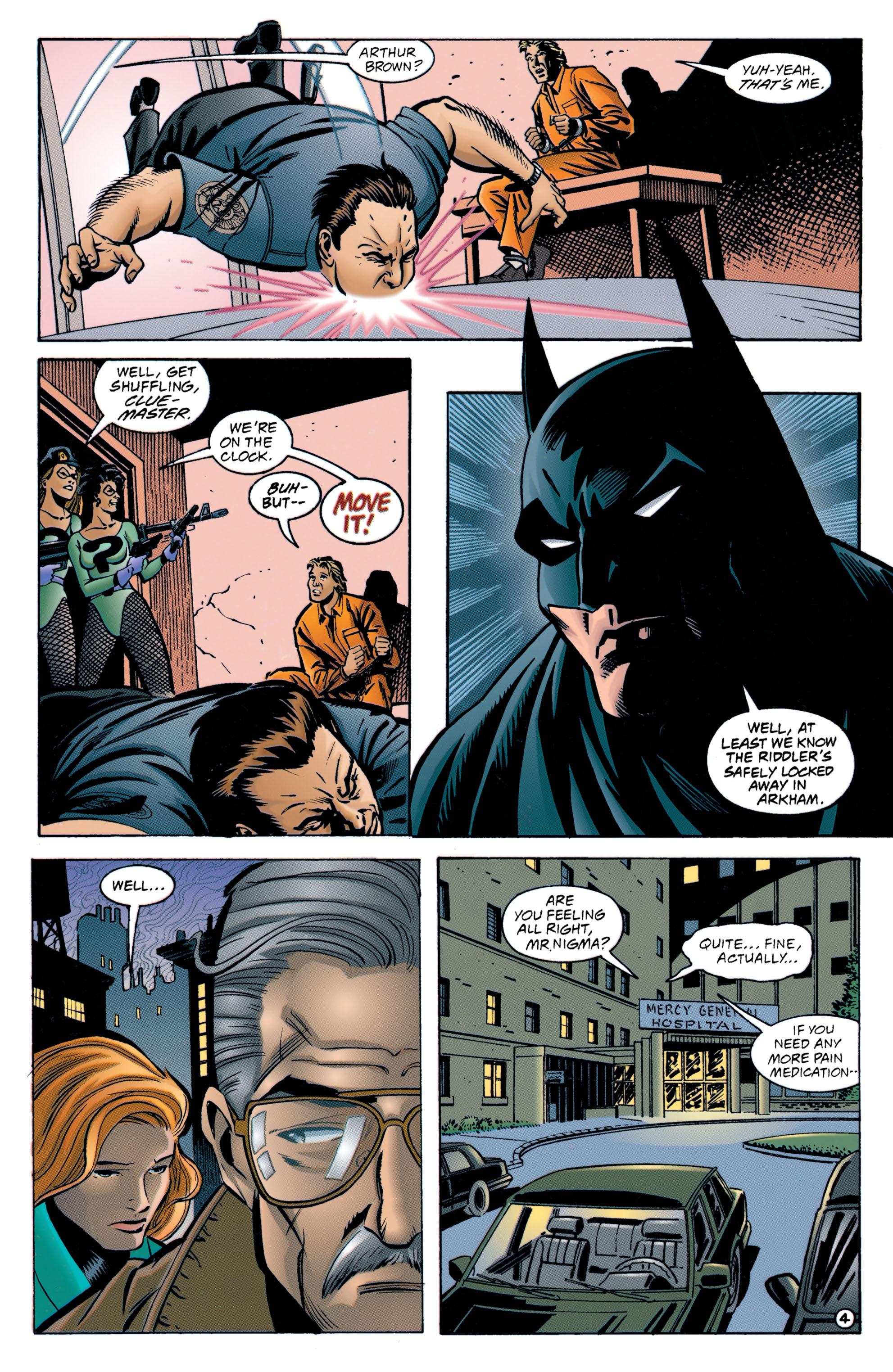Detective Comics (1937) 705 Page 4