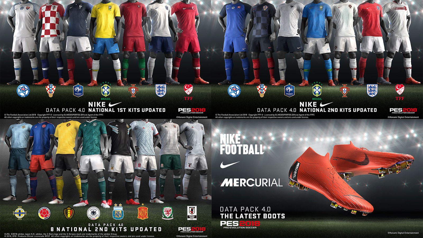 PES 2018 Data Pack 4 For CPY