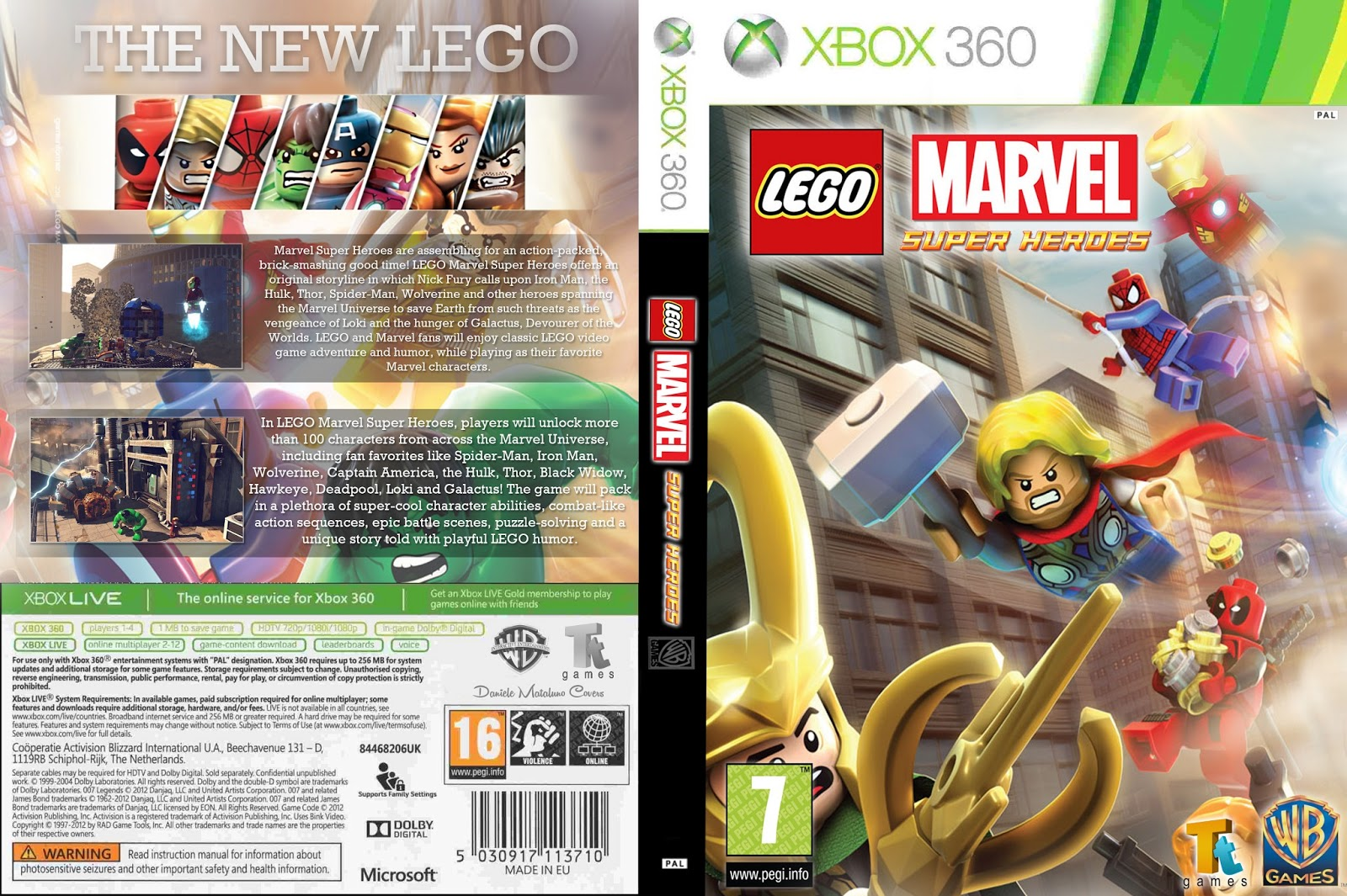 ⭐ Download game lego marvel super heroes pc demo | LEGO Marvel