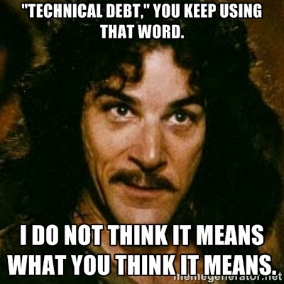 It S Not Technical Debt It S Unclean Code