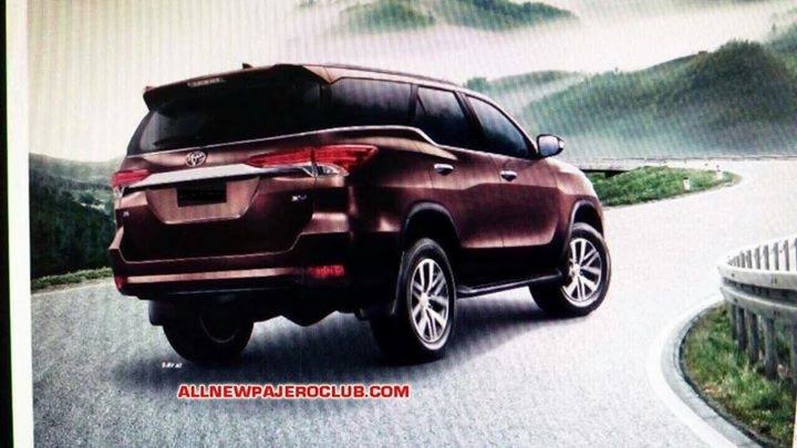 new 2016 toyota fortuner suv this is it carscoops. Black Bedroom Furniture Sets. Home Design Ideas