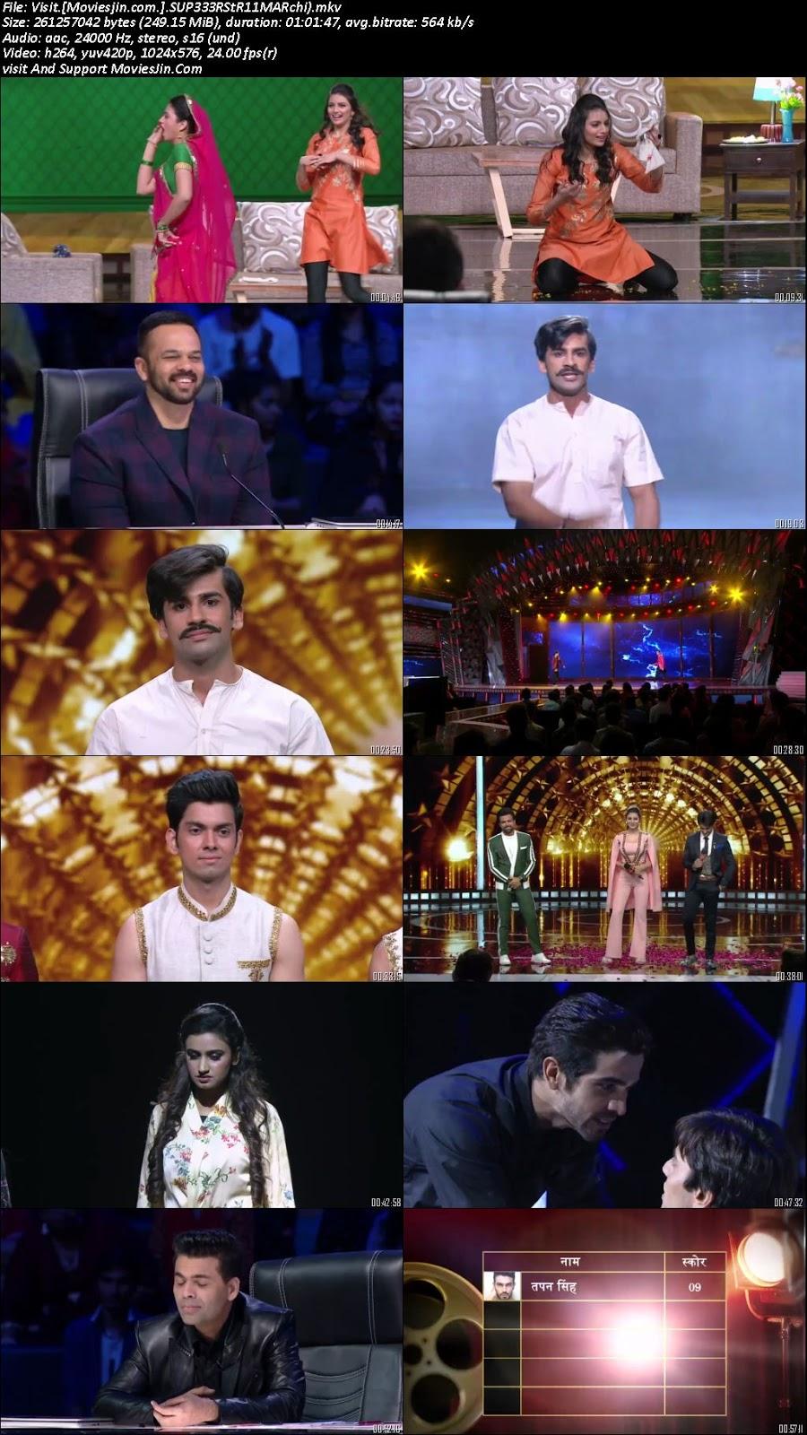 India Next Superstars 11 March 2018 HD 480p TvRip 240MB