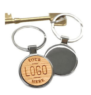 keyring, logo, personalized